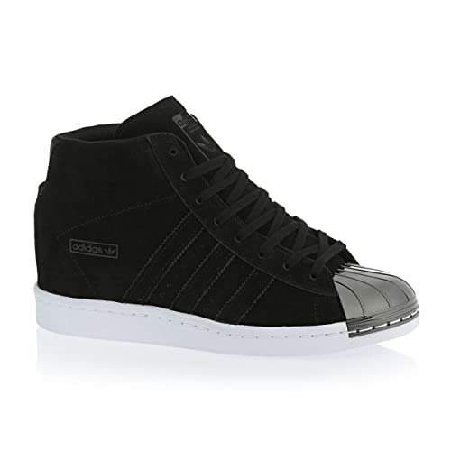 adidas Superstar Up Up Superstar Metal Toe W Calzado Negro/Blanco 161079
