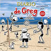 Calendario de Greg 2021 (DIARIO DE GREG) (Spanish Edition): Kinney