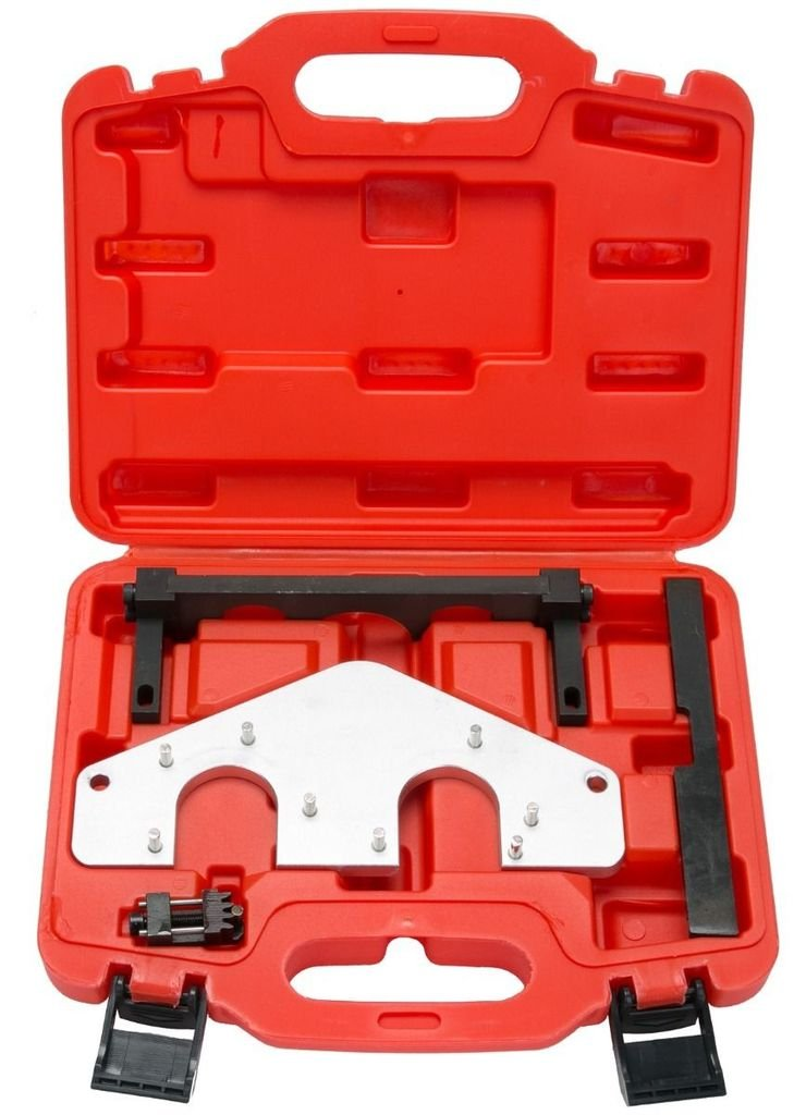 SUPERCRAZY Engine Camshaft Crankshaft Alignment Timing Tool Kit For Mercedes Benz AMG 156 SC0243 SUPER TOOLS