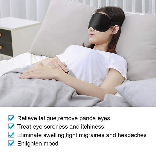 Amazon.com: Máscara de ojo de vapor USB, control de ...