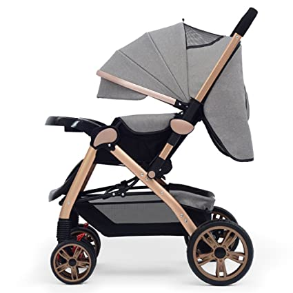 Cochecito de bebé recién nacido para el carro convertible plegable infantil Lujo de alta vista Cochecito