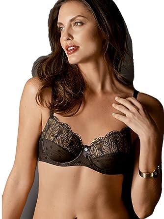 e48cb7b3d733d AMOENA Soutien-Gorge Mastectomie - Femme Noir Black & Nude 90D ...