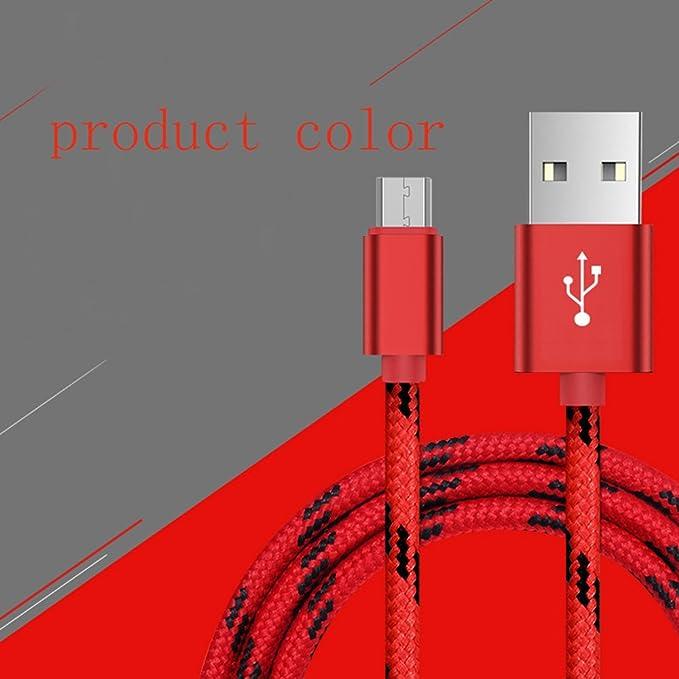 1 opinioni per cavo micro USB con connettore in metallo + fodero di nylon, ad alta velocit¨¤