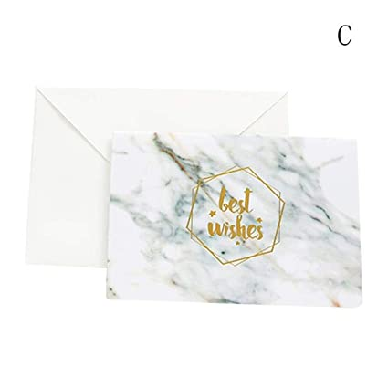 Amazon.com : CHITOP 1Pcs Marble Texture Fashion Bronzing ...
