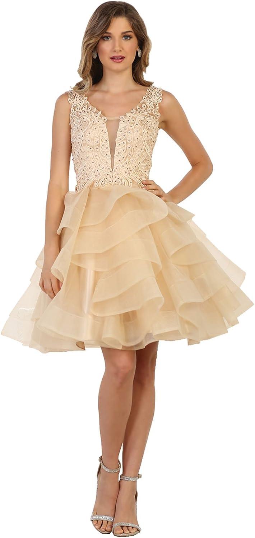 Formal Dress Shops Inc Royal Queen Rq7566 Graduation Homecoming Designer Dress At Amazon Women S Clothing Store