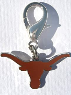 product image for Diva-Dog NCAA 'Texas Longhorns' Licensed College Team Dog Collar Charm