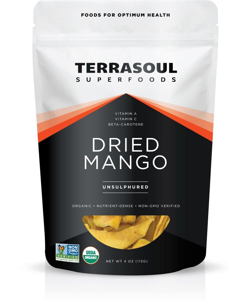 Terrasoul Superfoods Organic Mango Slices (4 Ounces)