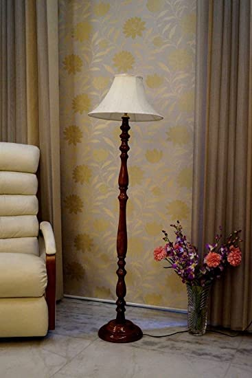 Tu Casa WWF-94 220-Watt Floor Lamp (Multicolour) Standing Lights at amazon