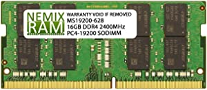 Dell Compatible SNP821PJC/16G A9168727 16GB NEMIX RAM Memory for Inspiron Laptops