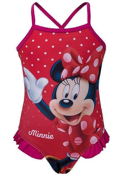 Traje de baño de les muchachas de Minnie Mouse