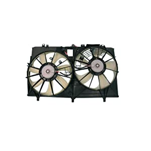 TYC 622670 Replacement Cooling Fan Assembly