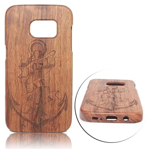 6 opinioni per Vandot Wooden Custodia Cover Case per Smartphone Samsung Galaxy S7 Edge, Lusso