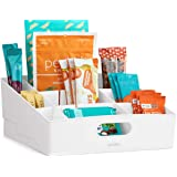 YouCopia Kitchen Cabinet Pantry ShelfBin Packet & Snack Bin Organizer, Large, White