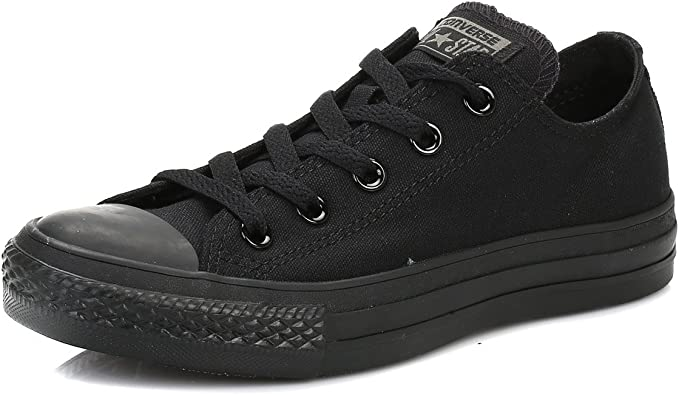 converse all star low top black