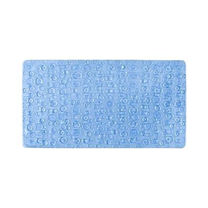 Freelance PVC Shower Mat - 28x15, Blue