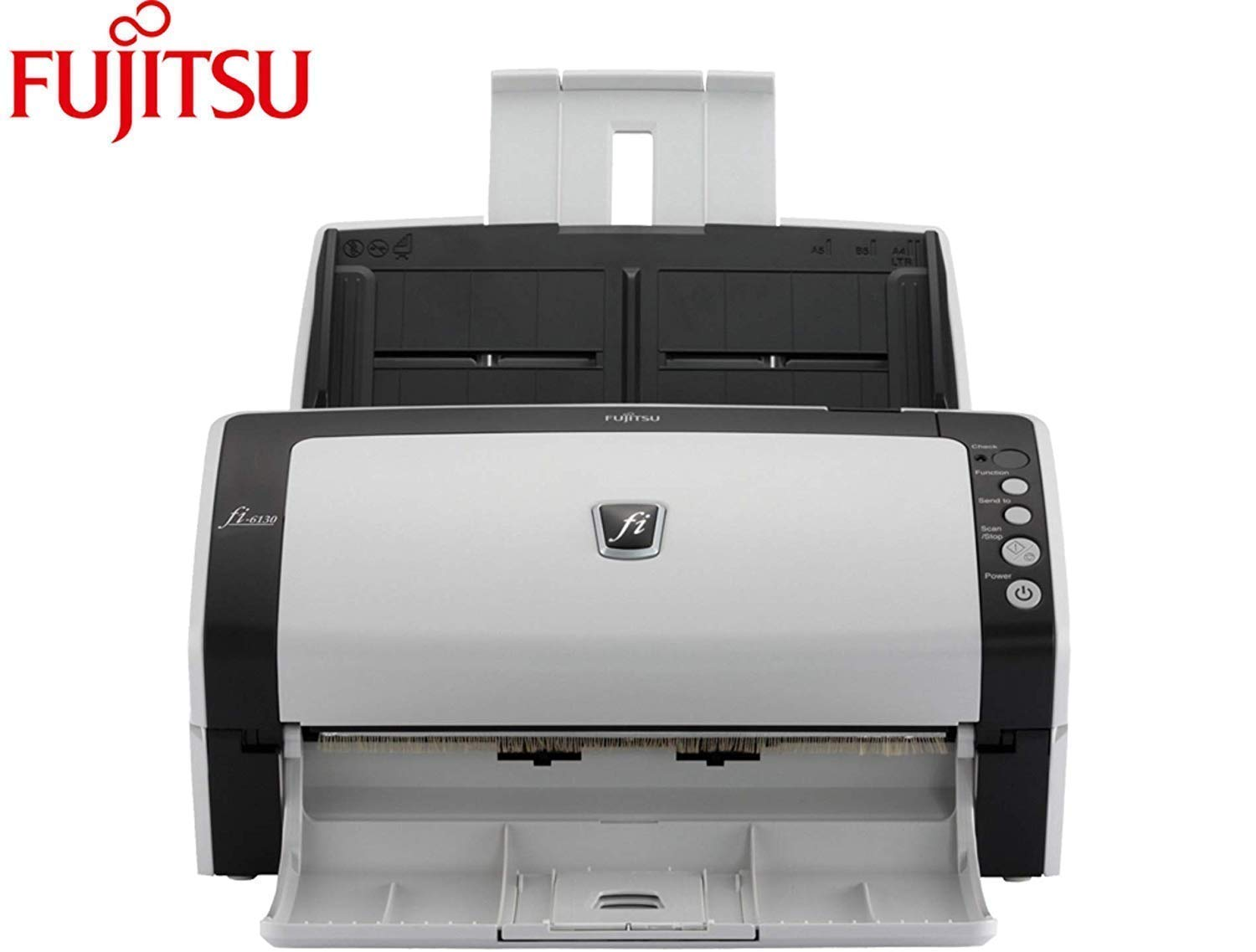 Fujitsu fi-6130Z Duplex Sheet-Fed Document Scanner Full Warranty (Renewed) by Fujitsu
