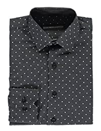 "Kids World Little Boys' ""Dots on Dots"" Dress Shirt"