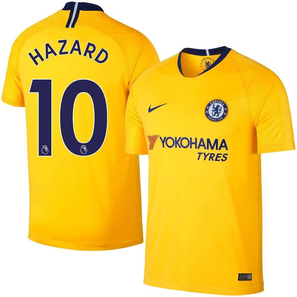 newest 1488e c4c74 Amazon.com : Nike Chelsea Away Hazard 10 Jersey 2018/2019 ...