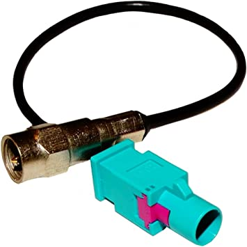 AERZETIX: Adaptador Cable FAKRA Macho FME Macho para Antena GPS navegacion C10860