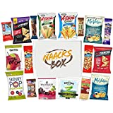 Kosher Healthy Snacks Care Package | Sweet & Nutritious Bars, Nuts, Potato Chips, Veggie Straws & Others | for School, Adults, Work, Parties & Diet (20 Count)