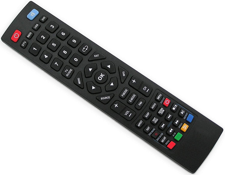 iNNEXT Mando a distancia de repuesto para Blaupunkt LCD LED 3D TV ...