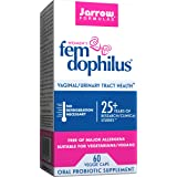 Jarrow Formulas Fem-Dophilus, 1 Billion Organisms Per Cap, Supports Vaginal and Urinary Tract Health, 60 Count (Cool Ship, Pa