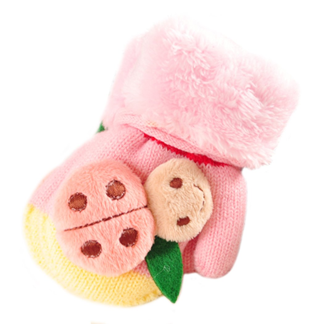 Fascigirl Toddler Mittens Foderati Coccinella Orso Carina in Inverno Guanti