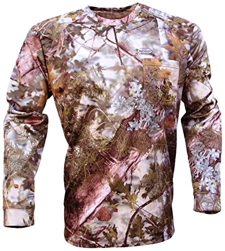King's Camo Hunter SeriesLong Sleeve Tee, Mountain Shadow, 3X-Large -