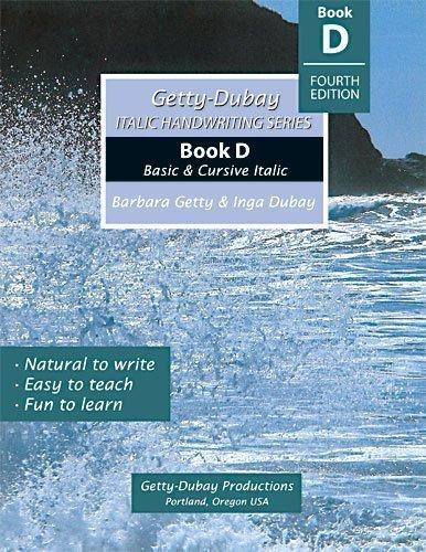 Italic Handwriting Series Book D ebook