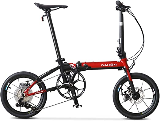 Likai Mini Bicicleta Plegable De Velocidad Ultraligera De 16 ...