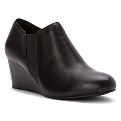 a264f36567d2 Vionic Women s Elevated Stanton Wedge Black 6 ...