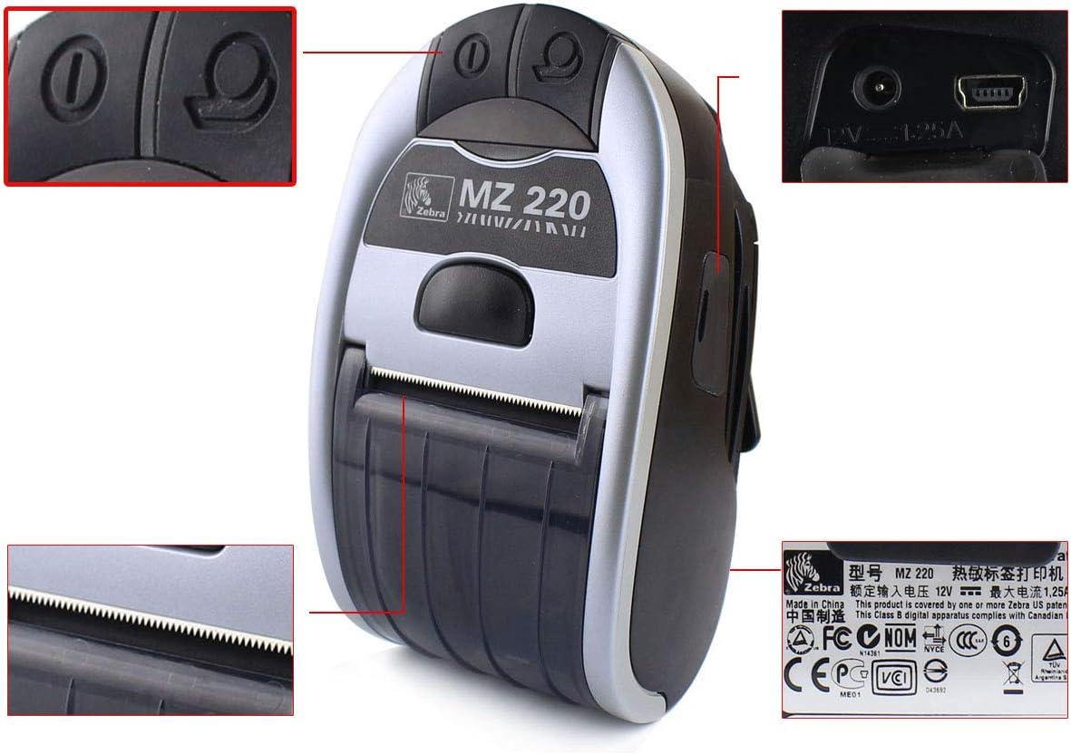 New MZ 220 Portable Receipt Printer MZ 220 Direct Thermal Wireless Mobile Printer with Bluetooth M2E-0UB0E020-00