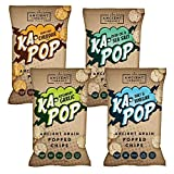 Ka-Pop! | Popped Chips | Variety Pack | Ancient Grains | Gluten-Free | Non-GMO | Vegan | 3.25oz (Pack of 4) Review