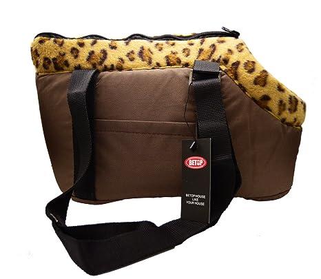 Betop casa perro gato Pet Travel Carrier bolsa bolso 17,7 x 9,8