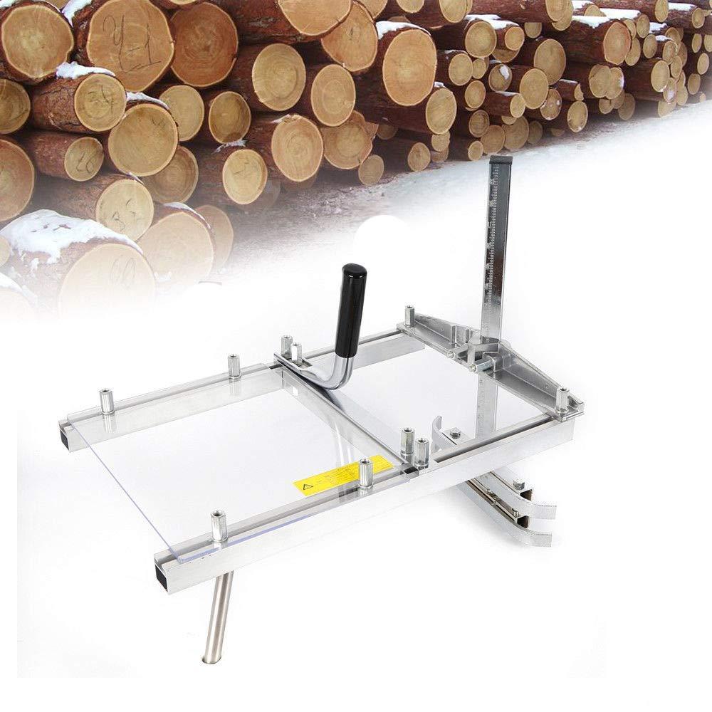 SHIOUCY Chainsaw Mill 36//20Zoll Mobiles S/ägewerk Holz S/ägehilfe f/ür 14 bis 36 Kettens/äge Motors/äge Tragbare Kettens/äge M/ühle Aluminium Stahl Schwei/ßen S/ägewerk F/ür 20