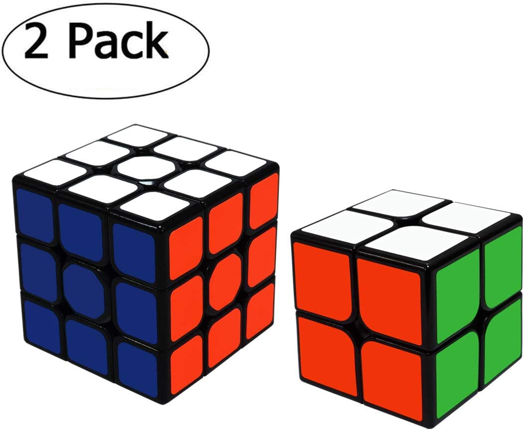 Maomaoyu Cubo Magico de la Velocidad Set, Cubo 2x2 3x3 ,Caja de ...