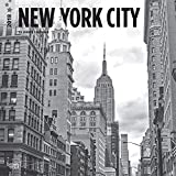 New York City Black & White 2018 12 x 12 Inch Monthly Square Wall Calendar, USA United States of America New York State Northeast Atlantic (Multilingual Edition)