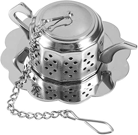 Stainless Steel Tea Ball Bag Infuser Filter Spice Leaf Strainer Diffuser