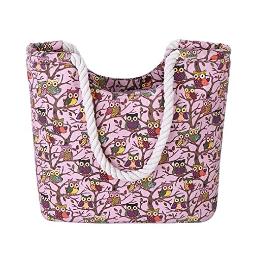 The Friendly Owl Key Bag (Pink) - 1