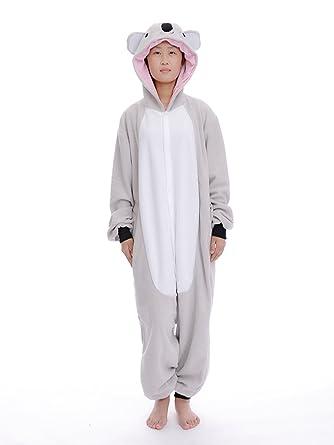 DAYAN de koala Unisex Adult Cosplay Animales Onesie Pijama ...