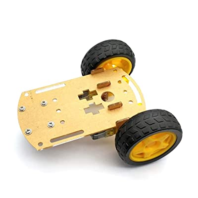 Smart Robot Car 2WD Motor Chassis/Tracing Car Box Kit Speed Encoder with Battery Box for Arduino DIY Kit: Industrial & Scientific [5Bkhe1103473]