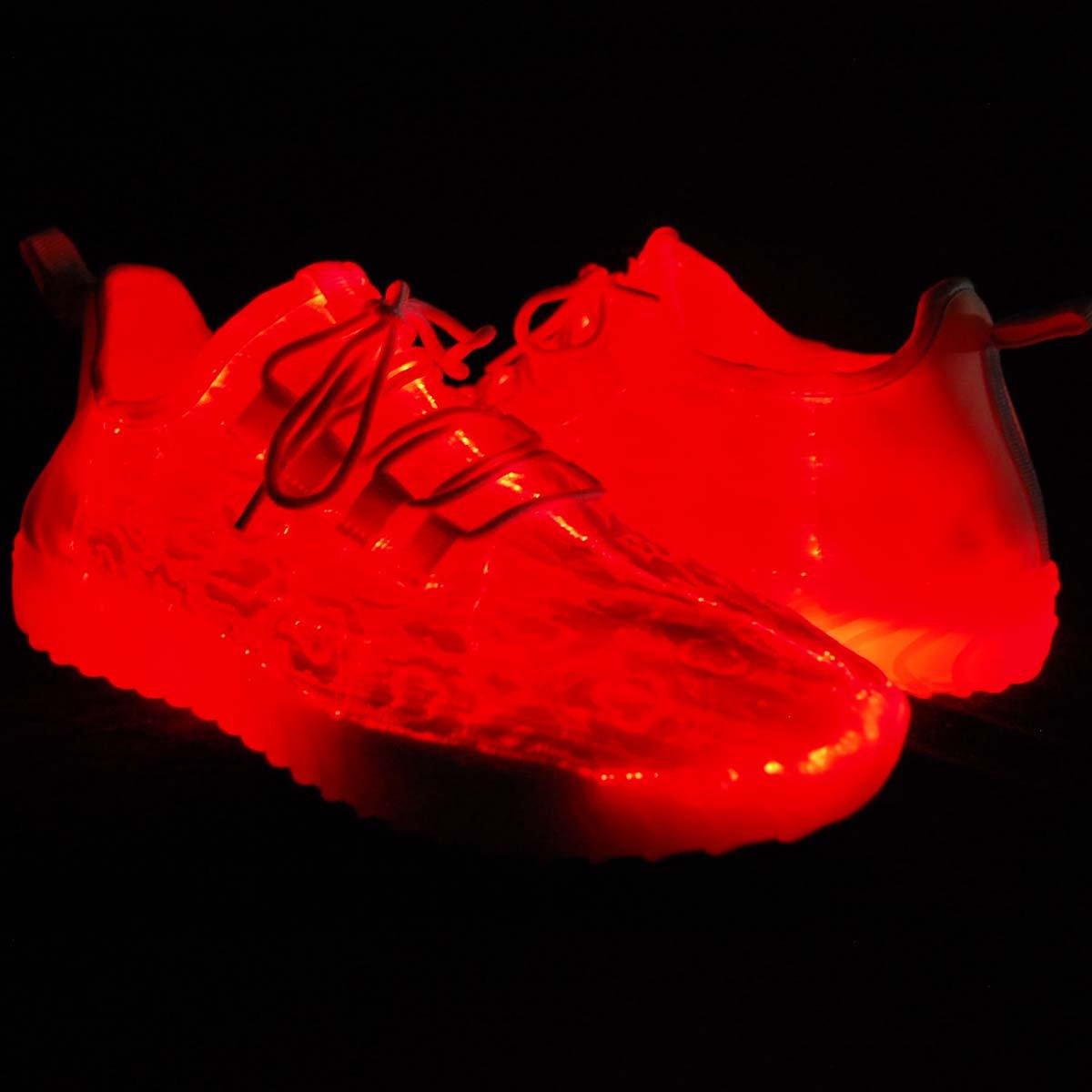 Men KRAZY SHOE ARTISTS 11 Color Light Modes LED Lighted Upper Fashion Sneaker