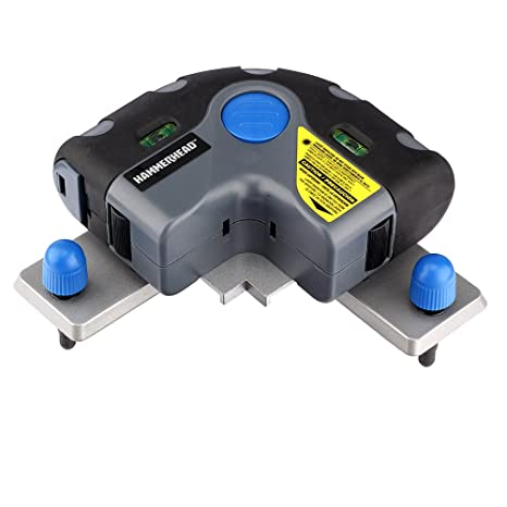 3ae28e4013 HAMMERHEAD HLFL01 Flooring Laser, installation for Tile, Floor Alignment,  Wallpaper & More with Storage Bag - - Amazon.com