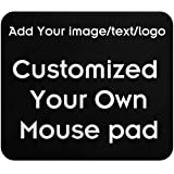 Customize Your Personalized Mouse pad - add Pictures, Text, Logos or Art Designs to Make Your own Favorite Mouse pad…