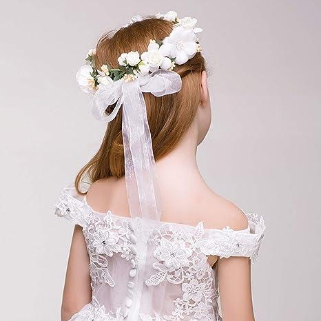 Kinder Schaum Blume Stirnbänder Kranz Blumen Krone Haarschmuck Kopfschmuck