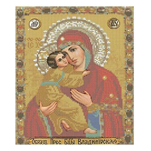 5D DIY Diamond Painting Cross Stitch Religion Icon of Leader Diamond Mosaic True Religious Men Diamond Embroidery Rhinestones,904VV,35x30cm