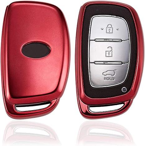 KAKTUS Hyundai Cover Protettiva Smart Key Protection Shell per Chiave Auto Hyundai Keyless Go