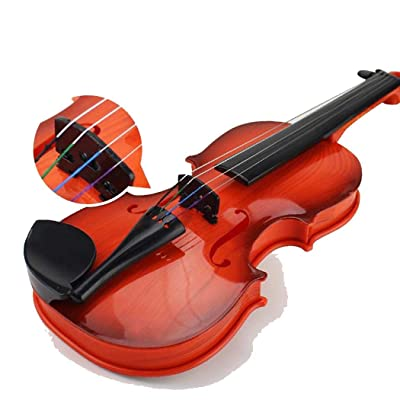Makalar Creative Children\'s Violin Toy Early Education Music Simulation Toys Musical Instruments: Clothing [5Bkhe0503808]