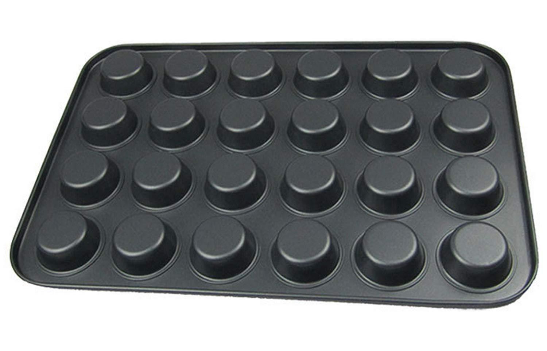 Tebery 24 Mini de Muffin Bandejas para hornear magdalenas ...