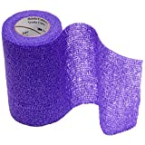 3M Vetrap 4'' Bandaging Tape, 4''x 5 Yards, Purple (12 Rolls)